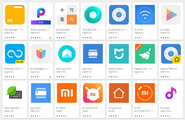 Official Xiaomi Mi app you need to download